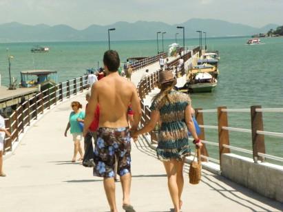 Porto Belo ganha pier turístico