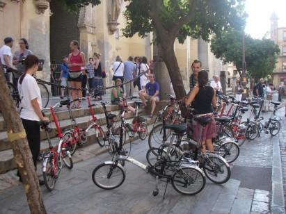 Encontro de Bicicletas Dobráveis em São Paulo