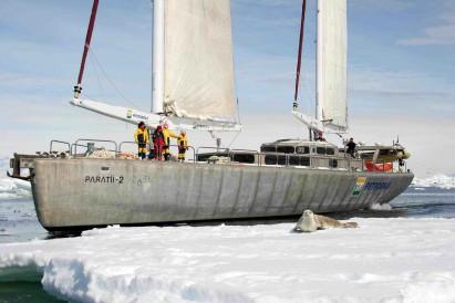 O barco Paratii2, a