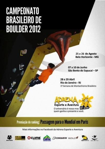 BH recebe etapa do brasileiro de boulder