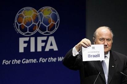 Blatter anuncia o Brasil como sede de 2014