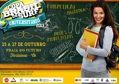 Copa Brasil de Surf Universitário / Divulgação