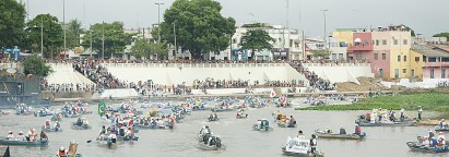 Pesca motorizada toma conta do Rio Paraguai