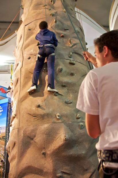 Adventure Sports Fair: Oficinas ensinam o bê-á-bá da aventura