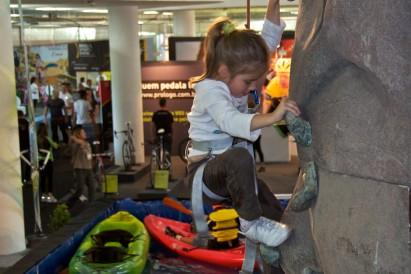 Adventure Sports Fair levou aventura para todas as idades