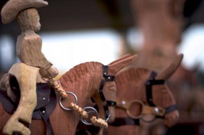 A arte de esculpir madeiras