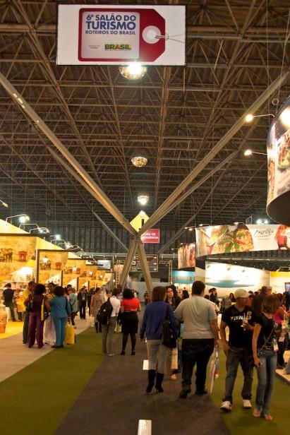 Salão do Turismo recebe 87 mil visitantes em quatro dias