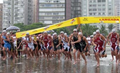 Triathlon Internacional de Santos acontece neste domingo