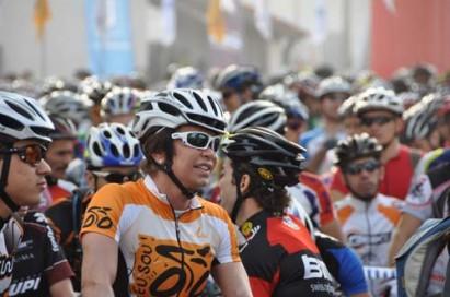Prova de bike agita Festival de Paraitinga