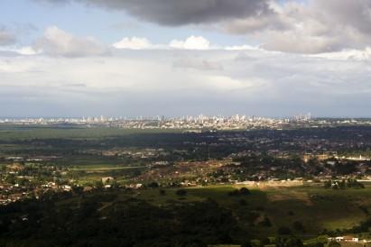 João Pessoa exibe extensa área verde