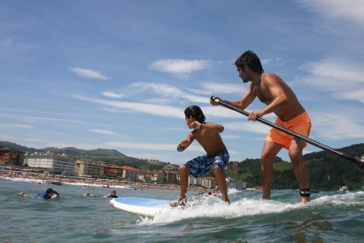 No Stand Up Paddle usa-se remo
