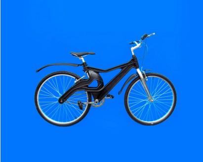 Novidade: bike de plástico reciclado