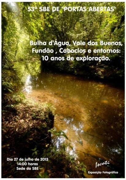 Sociedade Brasileira de Espeleologia / Divulgação
