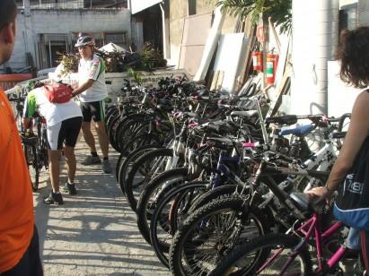 Estacionamento bike / Shadow