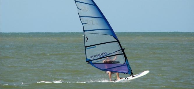 O Windsurfe tem vez em Camboriú